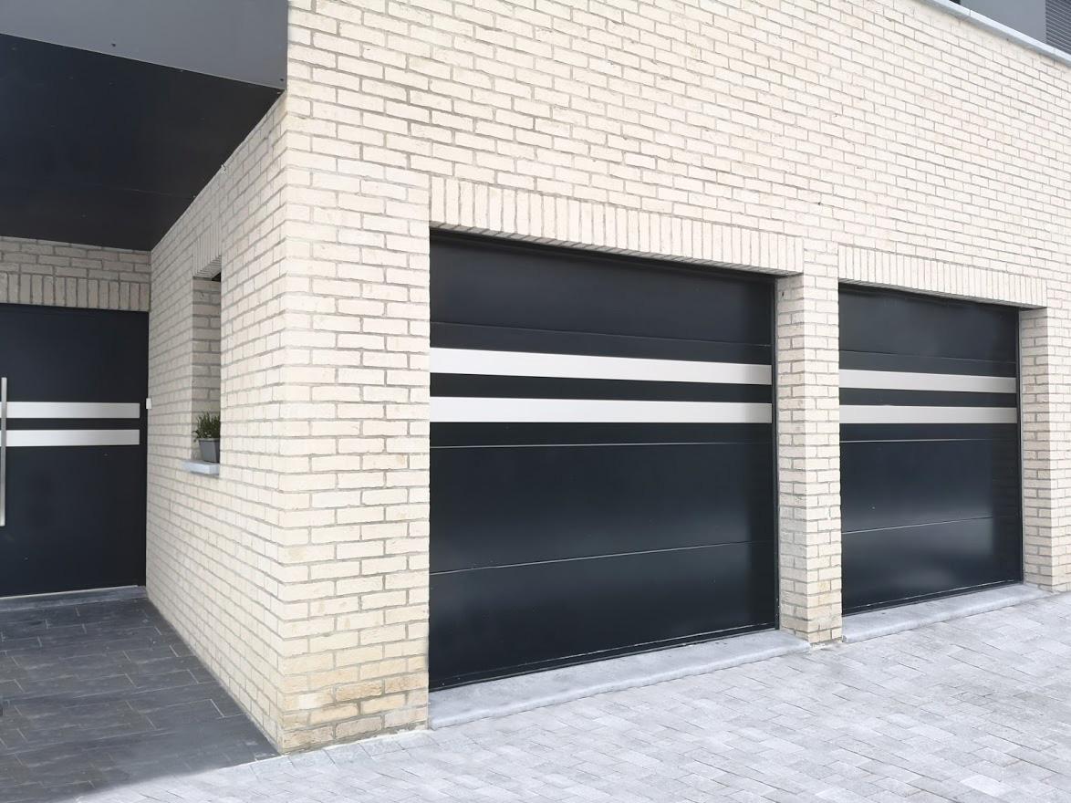 Porte de garage sectionnelle 60mm