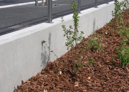 Clotures en beton murs series deco et deco t for Mur beton cloture