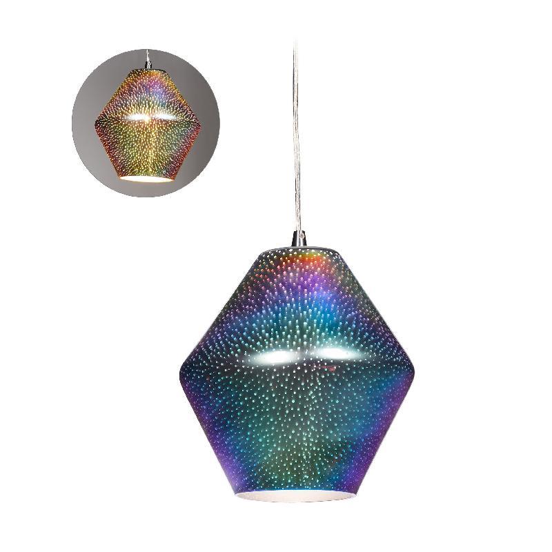 Lampe luminaire suspendu holographique jeu de lumière 13_0001474