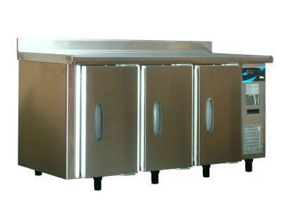 Meuble bas refrigere gn 1 1 3 portes 18 22 c demontable simple acces dessus inox - Meuble bas inox ...