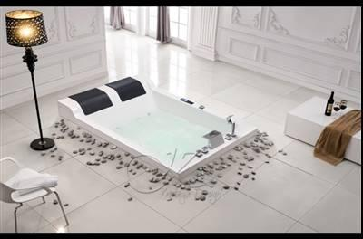 baignoire balneo design 39 twin 2 encastree. Black Bedroom Furniture Sets. Home Design Ideas