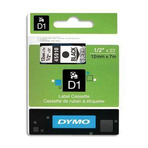 DYM RUBN DYMO D1 12MMX7M N/TRS 45010