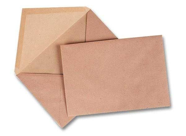 ENVELOPPES ADMINISTRATIVES GOMMÉES 114X162 MM PATTE TRIANGULAIRE GPV - NEUF - GPV GREEN