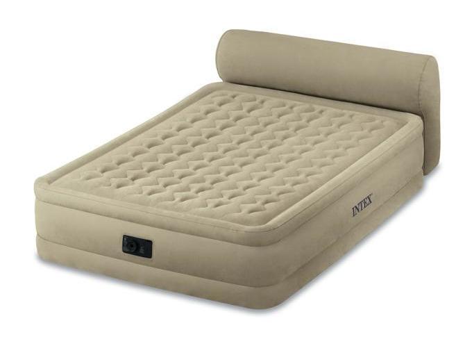 Lit Gonflable Intex Foam Top Fiber Tech Comparer Les Prix De Lit