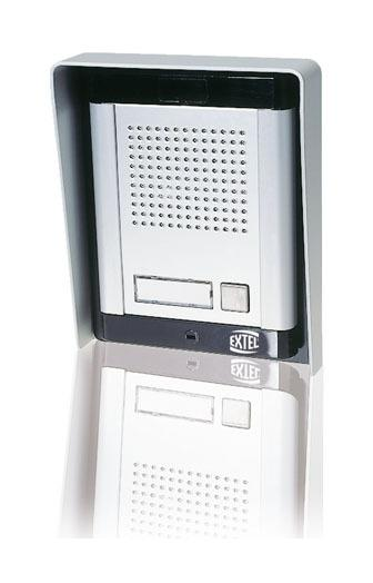 PLATINE DE RUE INTERPHONE WE 1510 / 1520 PRO - EXTEL