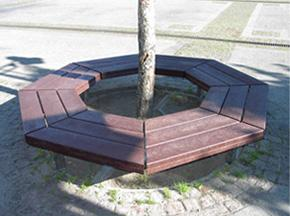 assise tour d 39 arbre. Black Bedroom Furniture Sets. Home Design Ideas