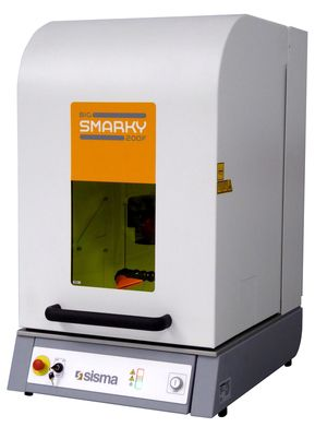 Big smarky - marquages laser - sisma laser - marquage jusqu'à 180x180 mm