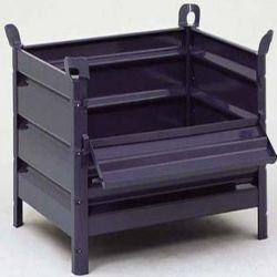 caisse en tole pour l 39 entreposage et le transport de pieces. Black Bedroom Furniture Sets. Home Design Ideas