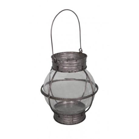 Lanterne zinc model seb15369 for Luminaire exterieur zinc