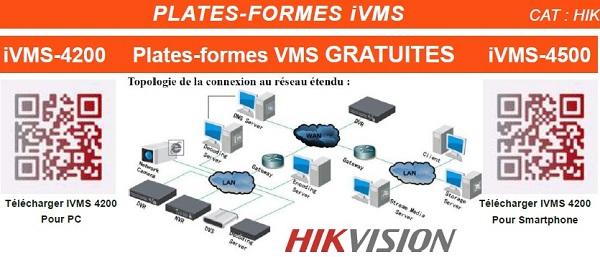 Plates-formes ivms hikvision ivms-4200