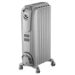 Radiateur bain d 39 huile 2000w 3 allures de chauffe effet - Radiateur effet cheminee ...
