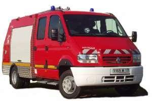 Vehicule incendie v.p.i. de moins de 3to5