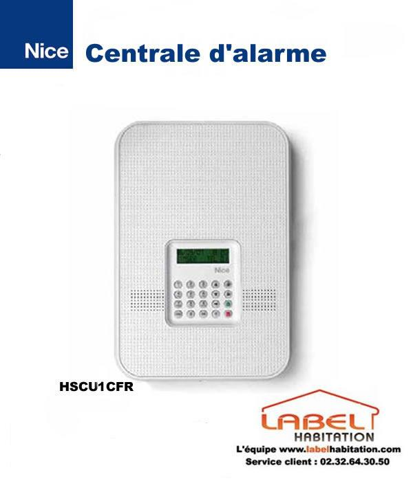 Alarme maison centrale double fr quence filaire ou radio for Alarme filaire maison