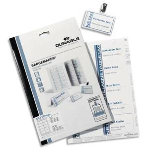 DUR PC/240 ETIQ PR BADGES 40X75 1453-02