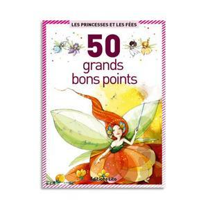 BOÎTE DE 50 GRANDES IMAGES PRINCESSES ET FÉES