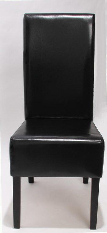Salle manger comparez les prix pour professionnels sur - Chaise salle a manger cuir noir ...