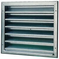 Schako produits grilles de ventilation exterieures - Grille de ventilation exterieure aluminium ...