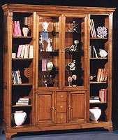 Bibliothèque 2 portes vitrées - collection  catherine