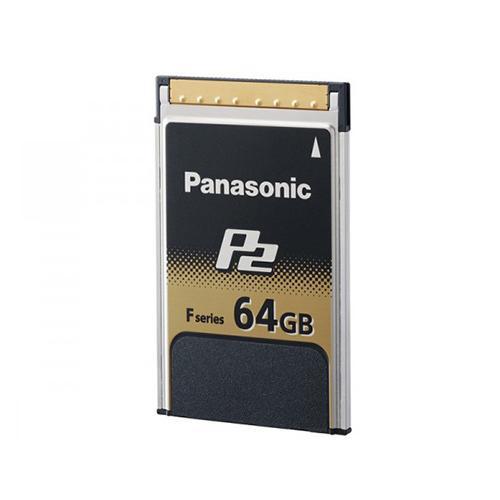 Carte p2 panasonic 64 go aj-p2e064fg