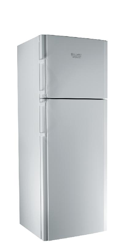 hotpoint ariston refrigerateur 2 portes entmh192a1fw entmh 192 a 1 fw argent. Black Bedroom Furniture Sets. Home Design Ideas