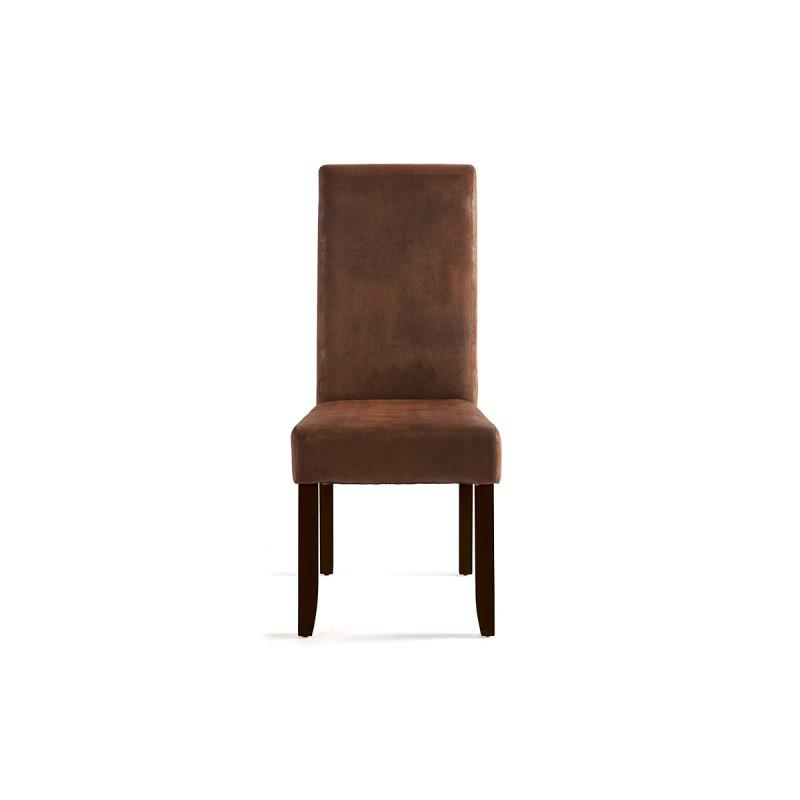 Chaises pour salles manger comparez les prix pour for Chaises salle a manger marron
