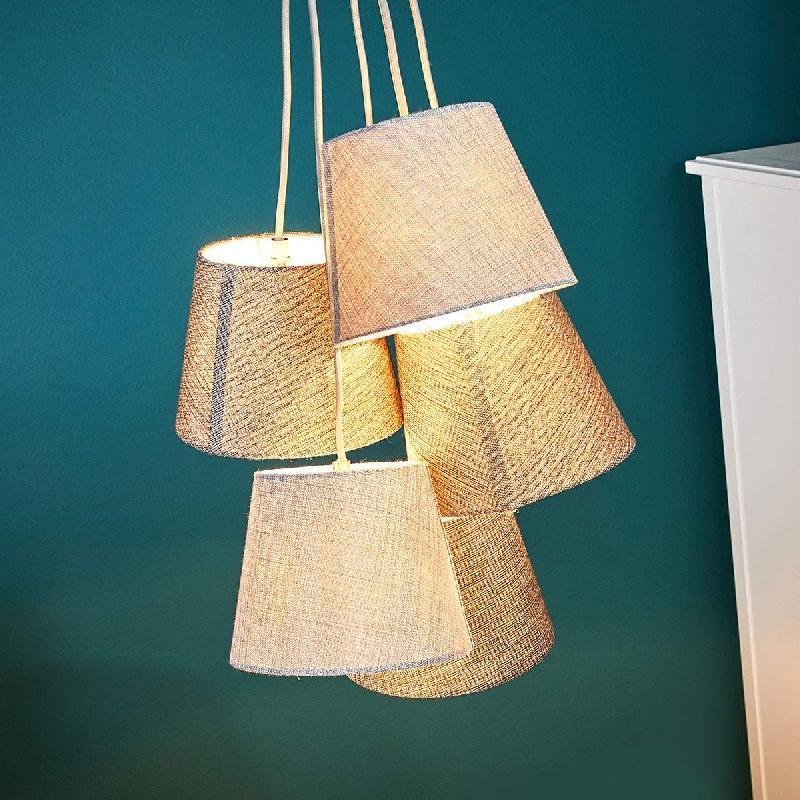 Suspension 5 Lampes Comparer Prix Antwerpen Les De 0mnN8w