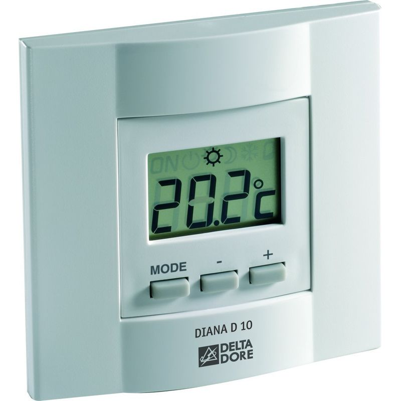 THERMOSTAT ELECTRONIQUE DIANA 10 - DELTA DORE - DELTA DORE THERMOSTAT