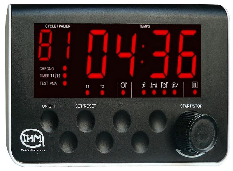 Minuterie cadenceur double timer - chrono - test vma #0436b