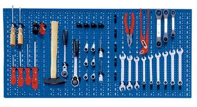 Panneaux perfor s comparez les prix pour professionnels for Crochet pour tableau outillage