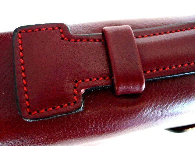 cartable cuir femme claire 207p couleur cuir pleine fleur rouge. Black Bedroom Furniture Sets. Home Design Ideas