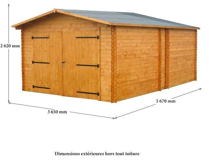garage en bois comparez les prix pour professionnels sur hellopro fr page 3. Black Bedroom Furniture Sets. Home Design Ideas