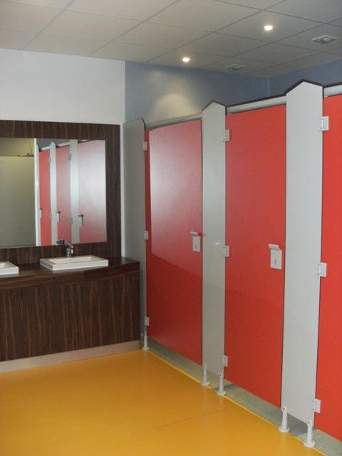 cabine de douche vestiaire