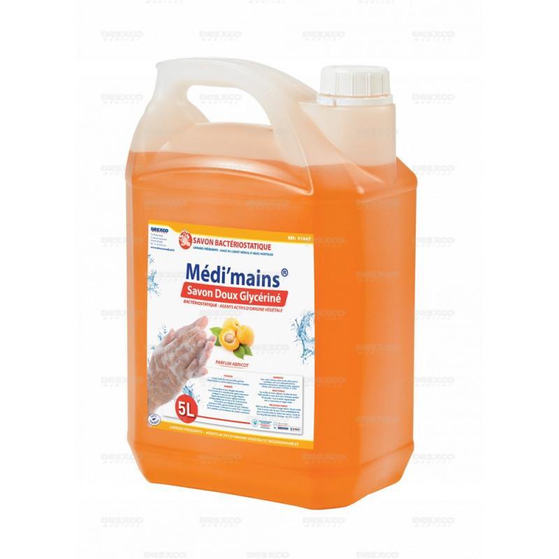 Lotion lavante medi'mains abricot 5 litres