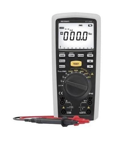 Testeur de tension /à 2 p/ôles VOLTCRAFT VC 63 CAT III 1000 V CAT IV 600 V Acoustique LCD s LED 1 pc