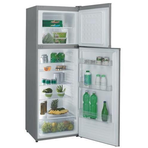 candy refrigerateur 2 portes ccds6172x ccds 6172 x inox. Black Bedroom Furniture Sets. Home Design Ideas
