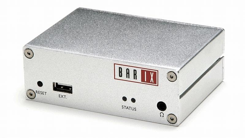 Exstreamer 100 - décodeurs de flux audio numérique sur ip