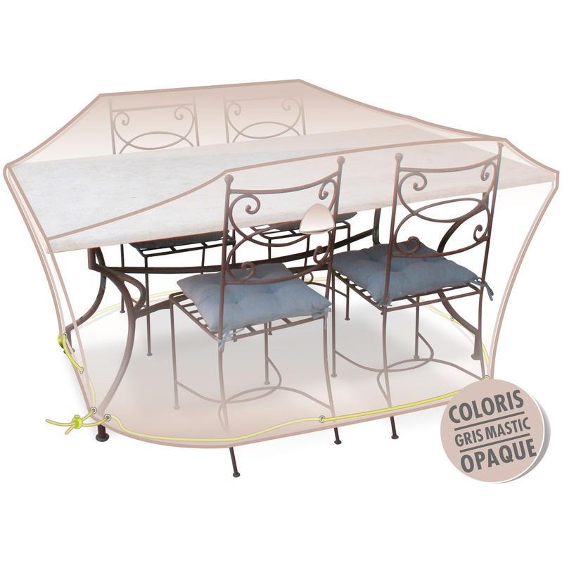 HOUSSE DE PROTECTION DE MOBILIER DE JARDIN MOREL - TABLE RONDE + ...