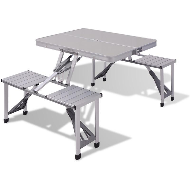 tables de pique nique vidaxl achat vente de tables de. Black Bedroom Furniture Sets. Home Design Ideas