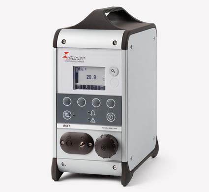 Analyseur portable oxygène et co2 ba 4s