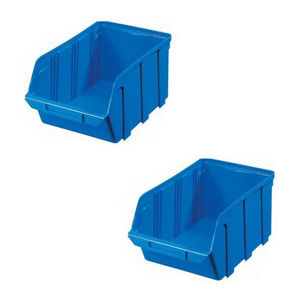bac a bec plastique bleu 160 x 100 x 70 mm. Black Bedroom Furniture Sets. Home Design Ideas