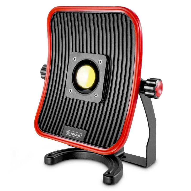 Lampe De Chantier Flow Led 50 W Batterie 6h D Autonomie Mw Tools