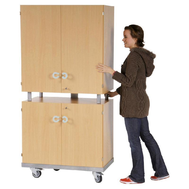 meuble audiovisuel pour cran plat 4 portes h tre largeur. Black Bedroom Furniture Sets. Home Design Ideas