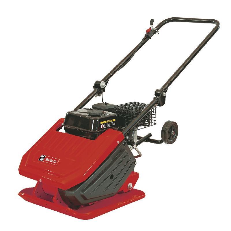 Compacteur à plaque vibrante avec moteur 13 kn - 6,5 ch mw-tools tpt1300