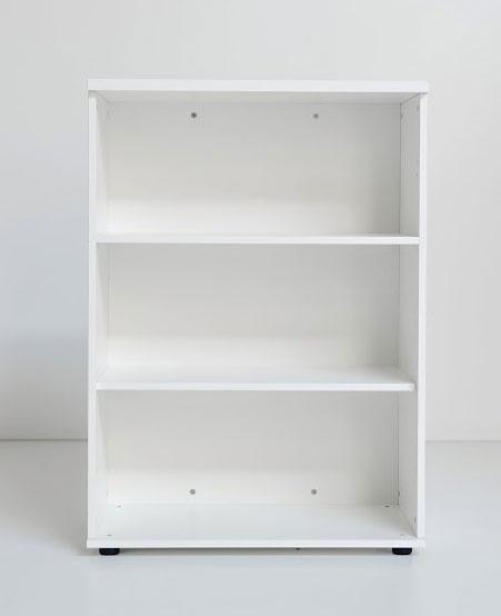 Ogi y / etagere ouverte moyenne 3 tablettes h113 x 80 cm chene