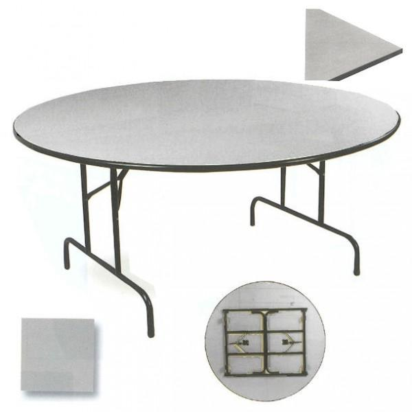 table repliable ronde. Black Bedroom Furniture Sets. Home Design Ideas