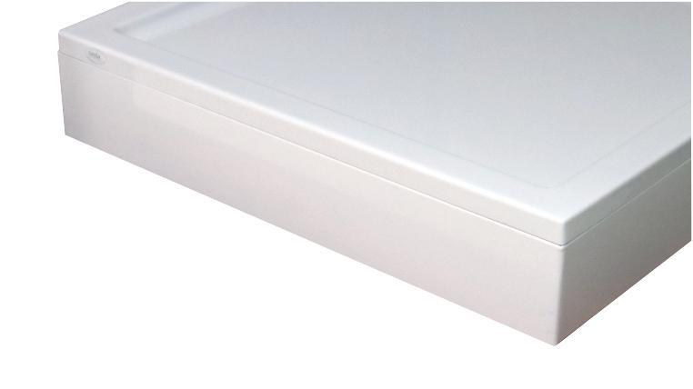 tablier pour receveur space line quart de rond 80x170 blanc l ref l22sl3q0090t. Black Bedroom Furniture Sets. Home Design Ideas