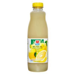 U pur jus de pamplemousse blanc pet 1 litre