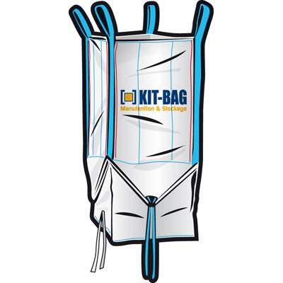 sac big bag type sbs avec ouverture plein ciel ouverture totale du fond par cor. Black Bedroom Furniture Sets. Home Design Ideas