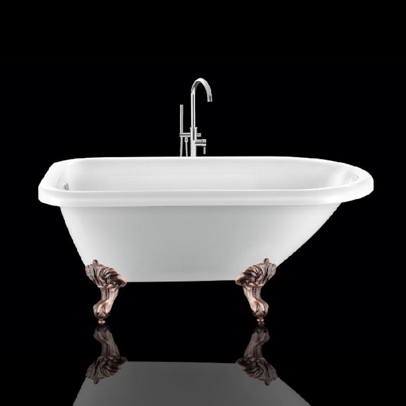 baignoire ancienne graceville 135 blanche avec pattes d 39 aigle vieux cuivre rouge comparer les. Black Bedroom Furniture Sets. Home Design Ideas