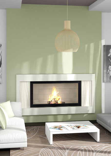 cheminees contemporaines ava. Black Bedroom Furniture Sets. Home Design Ideas
